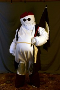 Captain Baymax Sparrow by Matthew Morrison