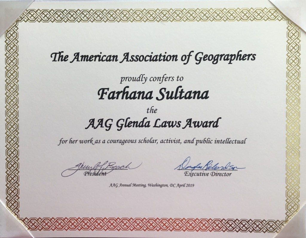 2019 Glenda Laws Award