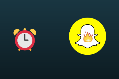 Set reminders to send snaps to your friends