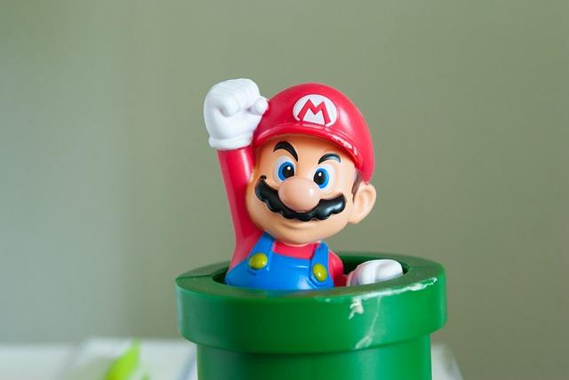 Gamecube mario games