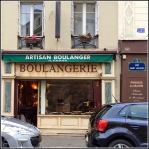 Paris: Boulangerie Solques