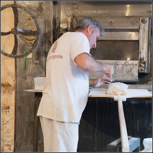 A baker at work