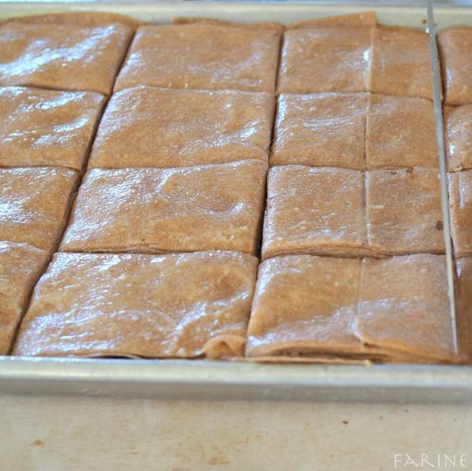 baklava pre-baked