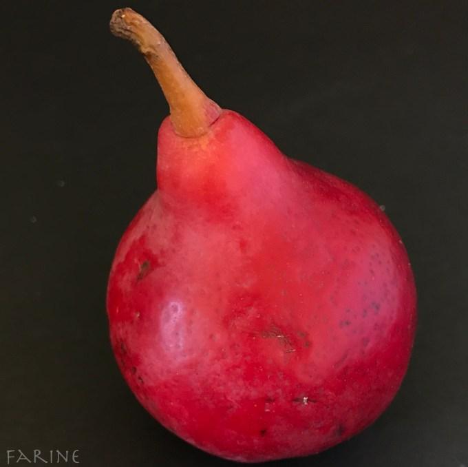 Crimson pear