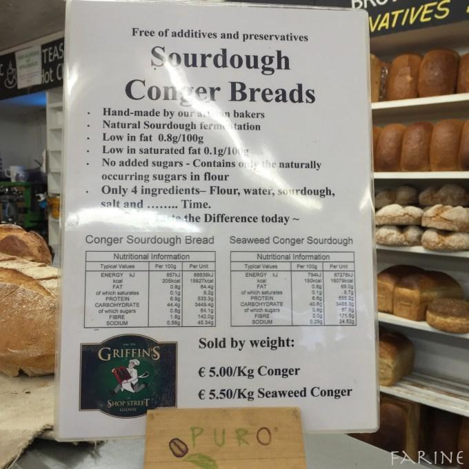 Conger bread - info