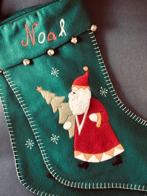 Noah's Xmas stocking