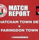Match Report – Thatcham Development v Faringdon Town Football Club