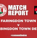 Match Report – Faringdon Town v Abingdon United Dev'