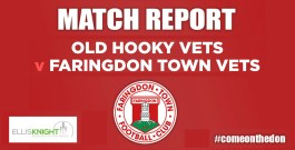 Match Review – Wednesday 24th April 2019 – Old Hooky Vets v Faringdon Town Vets