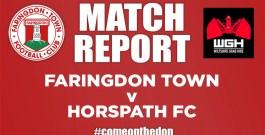 Friendly – Faringdon Town v Horspath FC