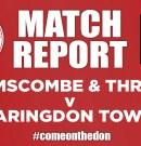 Match Report – Town v Brimscombe & Thrupp