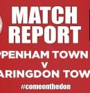 Match Report – Chippenham Town Dev v Faringdon Town