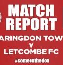 Match Report – Faringdon Town v Letcombe FC