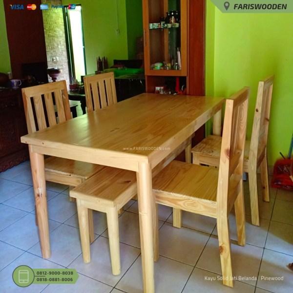 Meja Makan Custom