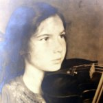 young with violin