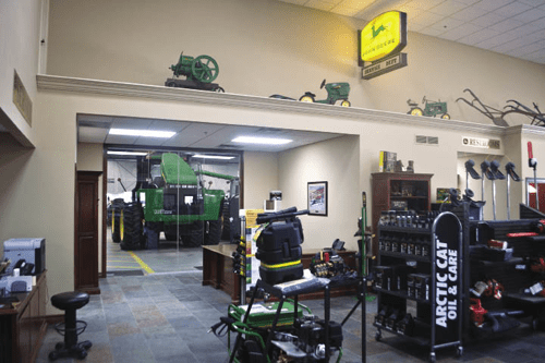 Hiawatha Implements New Store Combines Form with Function
