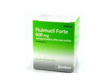 Fluimucil Forte 600 mg 20 comprimidos efervescentes comprar en farmacia internacional