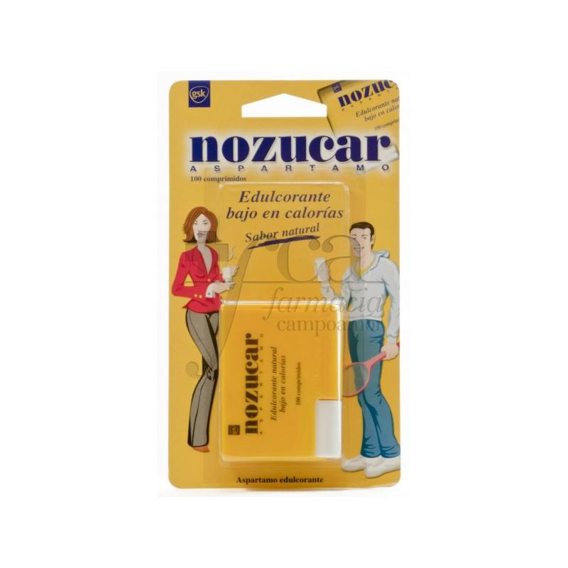 NOZUCAR ASPARTAME 500 TABLETS   Farmacia Campoamor