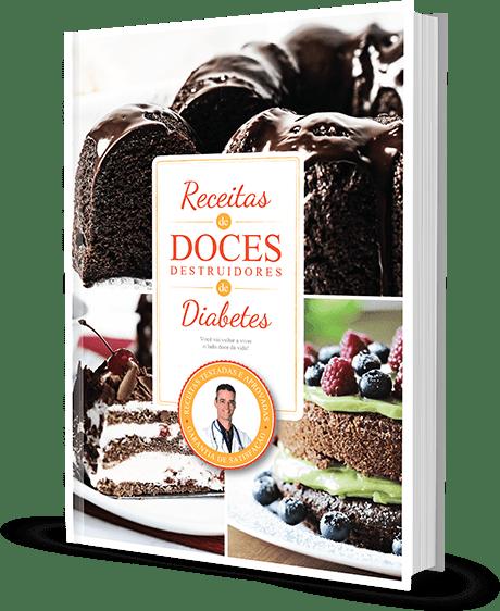 Ebook Receitas Doces Destruidores de Diabetes