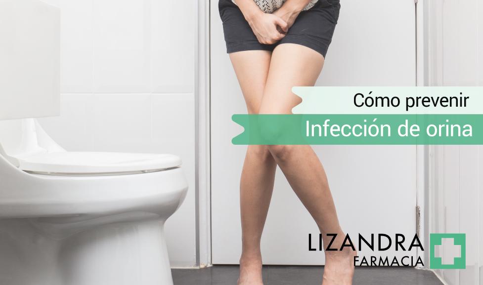 evitar la infección de orina