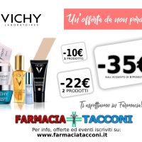 Evento Promozionale VICHY fino a 35€ di Sconto immediato