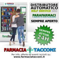 Distributore Automatico di PARAFARMACI con sistema SELF 24H installato nel Quartiere Finocchio