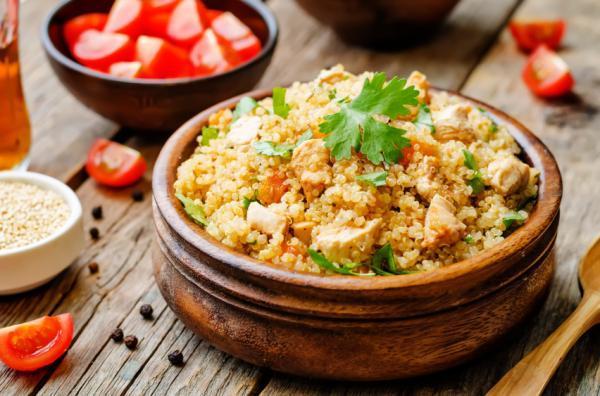 Quinoa por qu es tan saludable comerla nutrici n for Cocinar quinoa con pollo