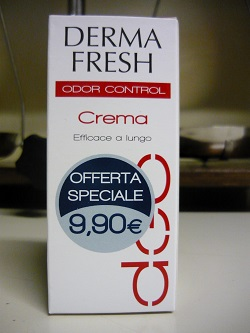 Dermafresh Deodorante In Crema Da 30ml  1010