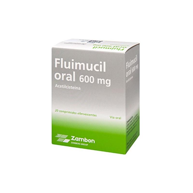 Comprar Fluimucil forte 600 mg comprimidos efervescentes - Farmainstant.com