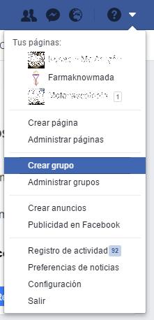Crear pagina de facebook para una farmacia