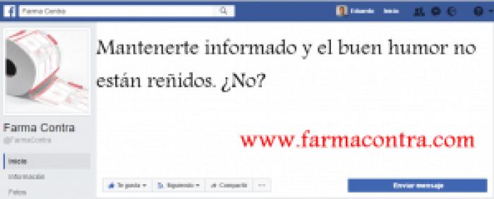 paginas de farmacia en facebook