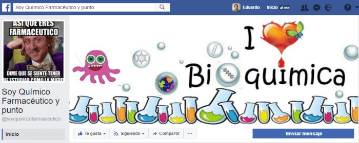 paginas de facebook de farmacias