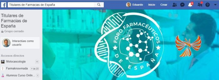 grupo facebook farmacéuticos