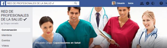grupos de facebook de salud
