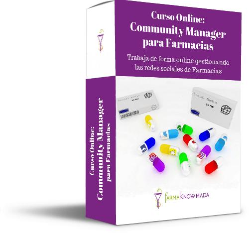 community manager farmacia curso online