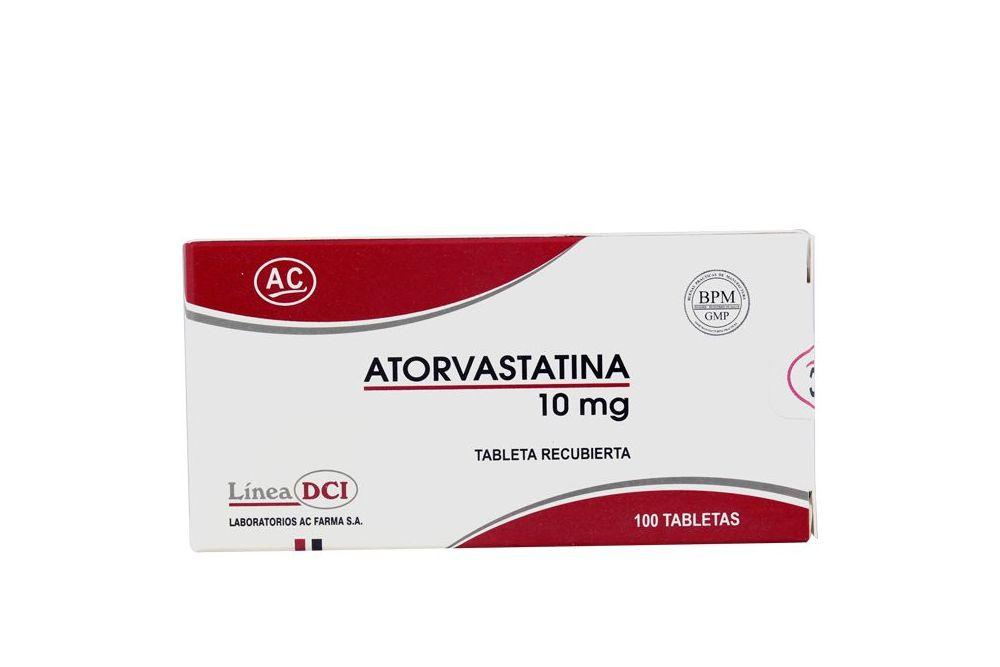 Comprar Atorvastatina 10 mg Caja Con 100 Tabletas-Botica ...