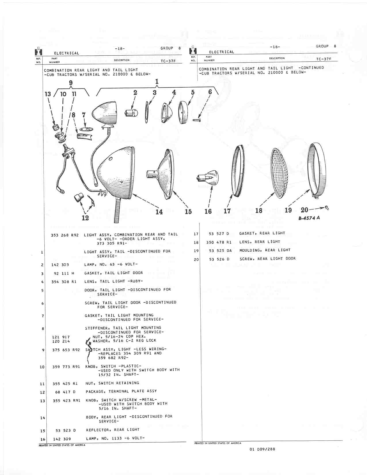 1970 john deere 140 wiring diagram 2004 chevy venture restoration project four digit cub page 46 farmall