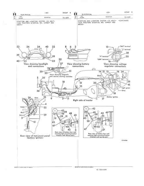 small resolution of ih cub wiring diagram 1957 books of wiring diagram u2022 1949 farmall cub wiring