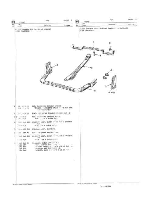 small resolution of 1959 mccormic farmall cub page 3 farmall cub farmall cub drawbar diagram