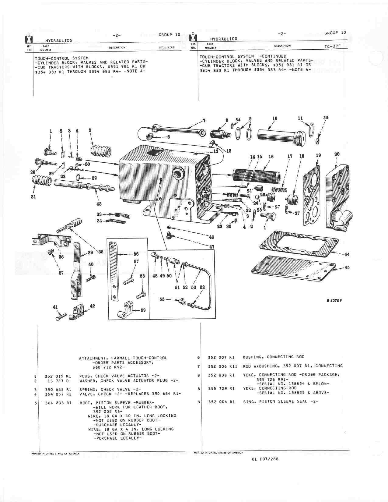 Farmall H Part Manual Diagram