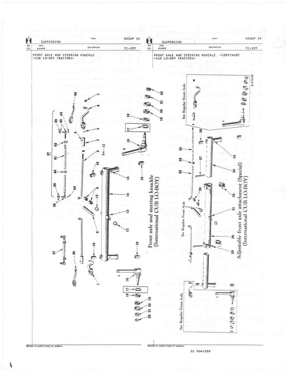 medium resolution of need help in removing the front axle farmall cub farmall 450 wiring diagram farmall cub front axle diagram