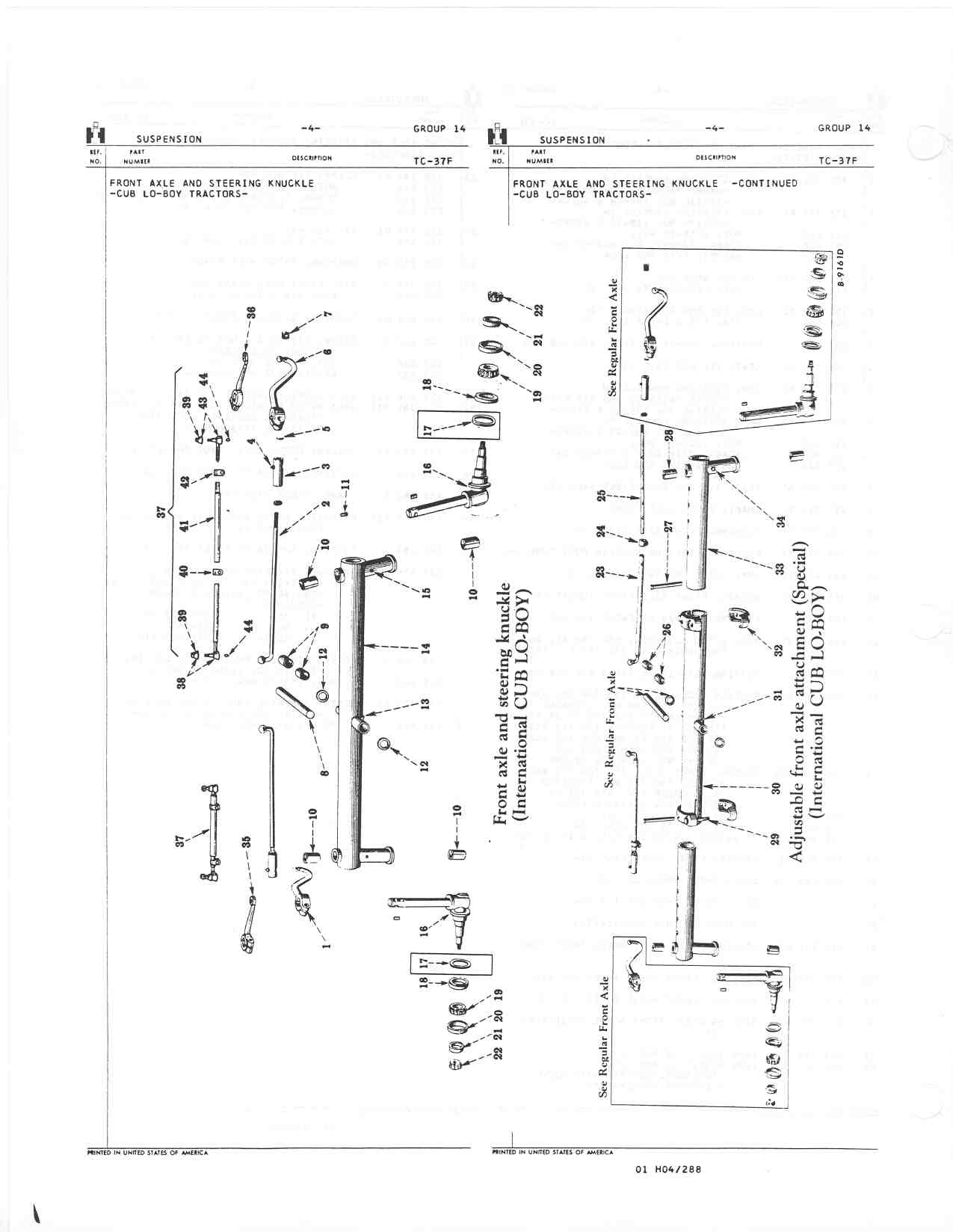 hight resolution of need help in removing the front axle farmall cub farmall 450 wiring diagram farmall cub front axle diagram
