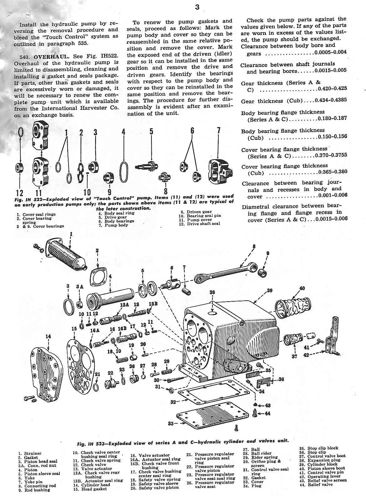 1951 farmall m wiring diagram 12 volt dc relay hydraulics quit working page 3 cub