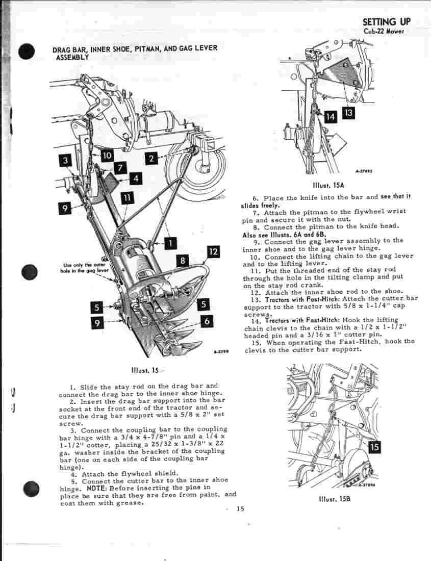 Farmall Cub Carburetor Adjustment A Diagram