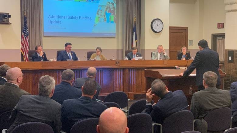 TXDOT staff present update on new safety funding to the TTC