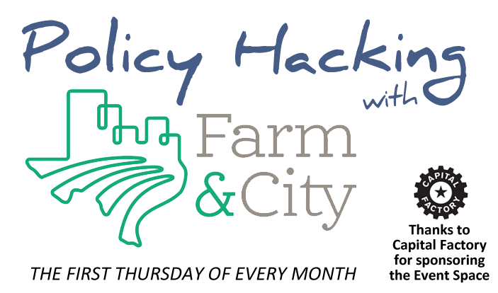 Policy Hacking with Farm&City