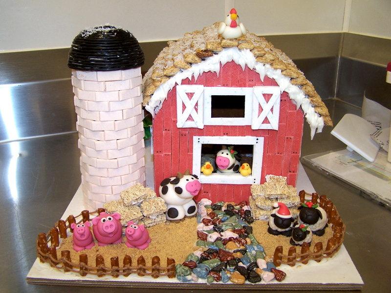 Gingerbread Farmhouses And Barns Photos Farm And Dairy