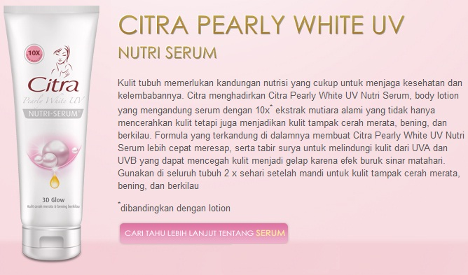 Body Serum Wangi Bunga Mawar