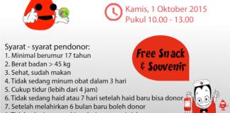 Vampire Day FF UI Donor Darah 2015