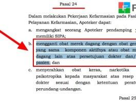 PP 51 Tahun 2009 Pasal 24 Diktum B